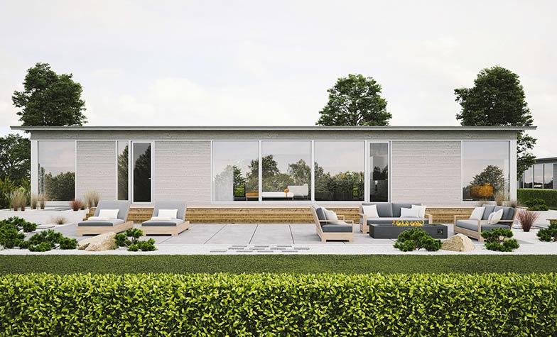 Просторный стильный дом GlassHouse 150