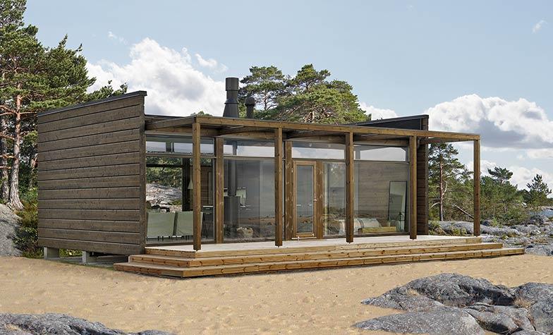 Загородный дом GlassHouse 50