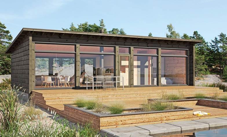 Современный дом GlassHouse 70