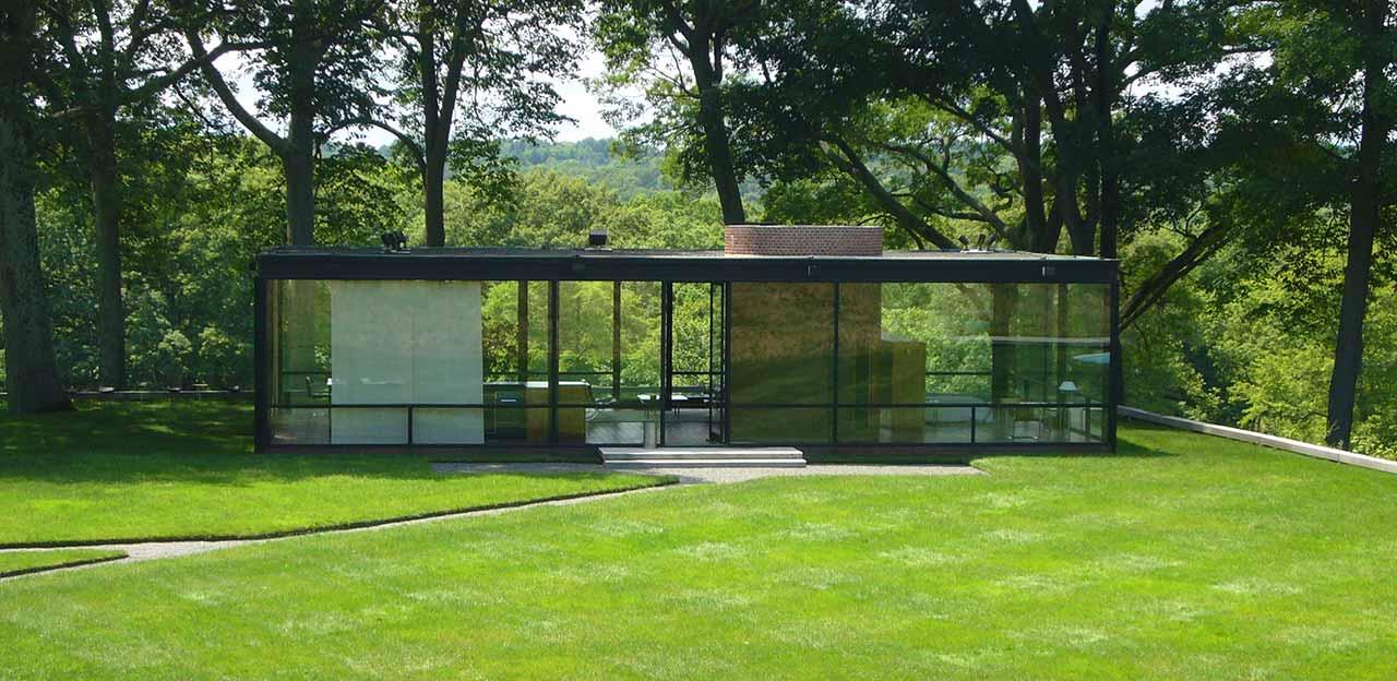 стеклянный дом Филипа Джонсона