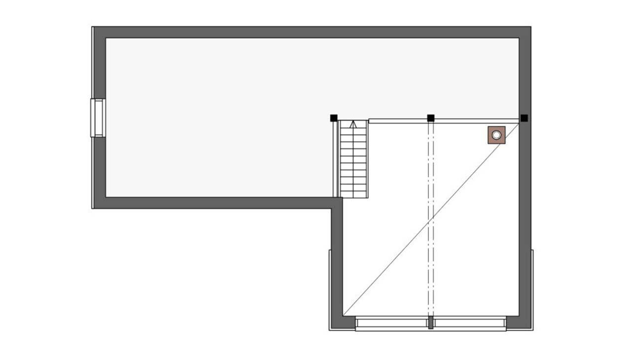 План мансардного этажа Контио Леви С