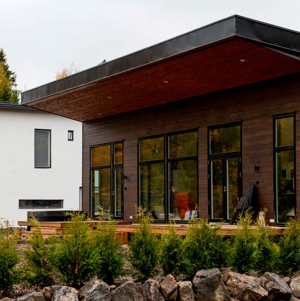 Деревянный дом Контио Скайхауз