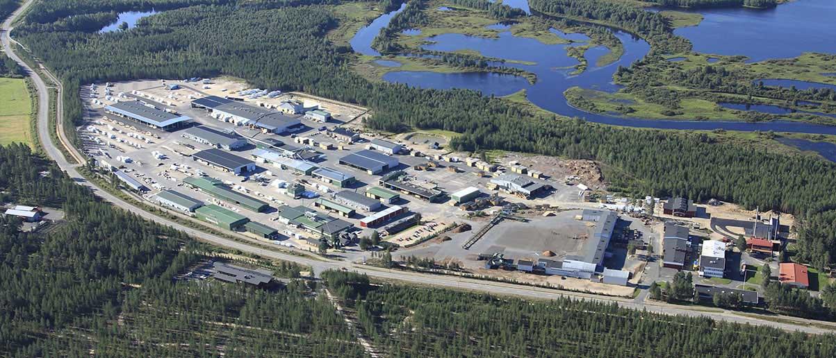 Завод по производству деревянных домов