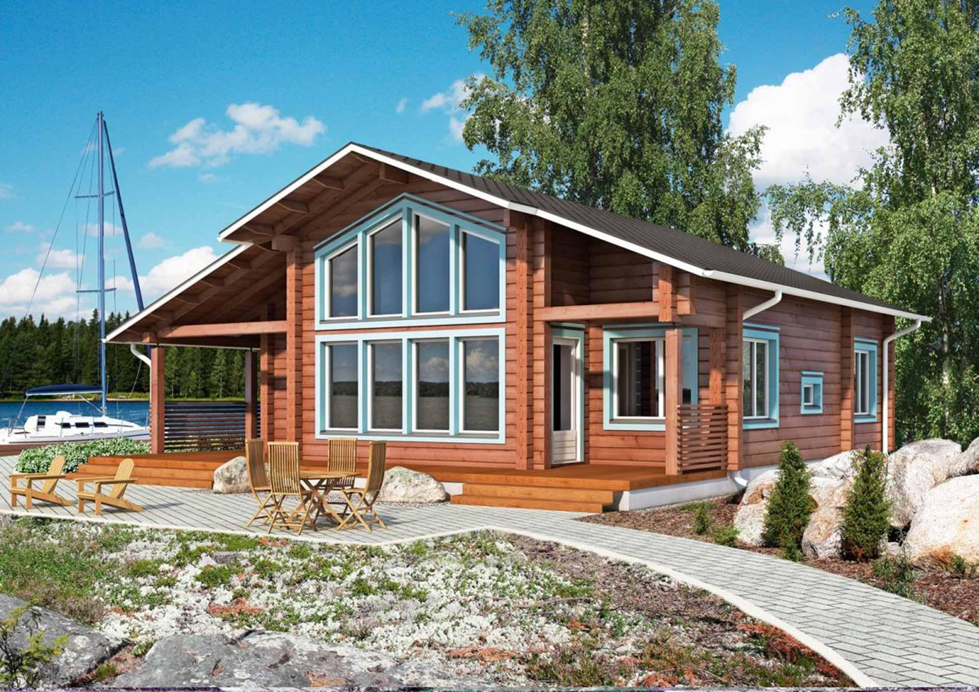 Практичный финский дом
