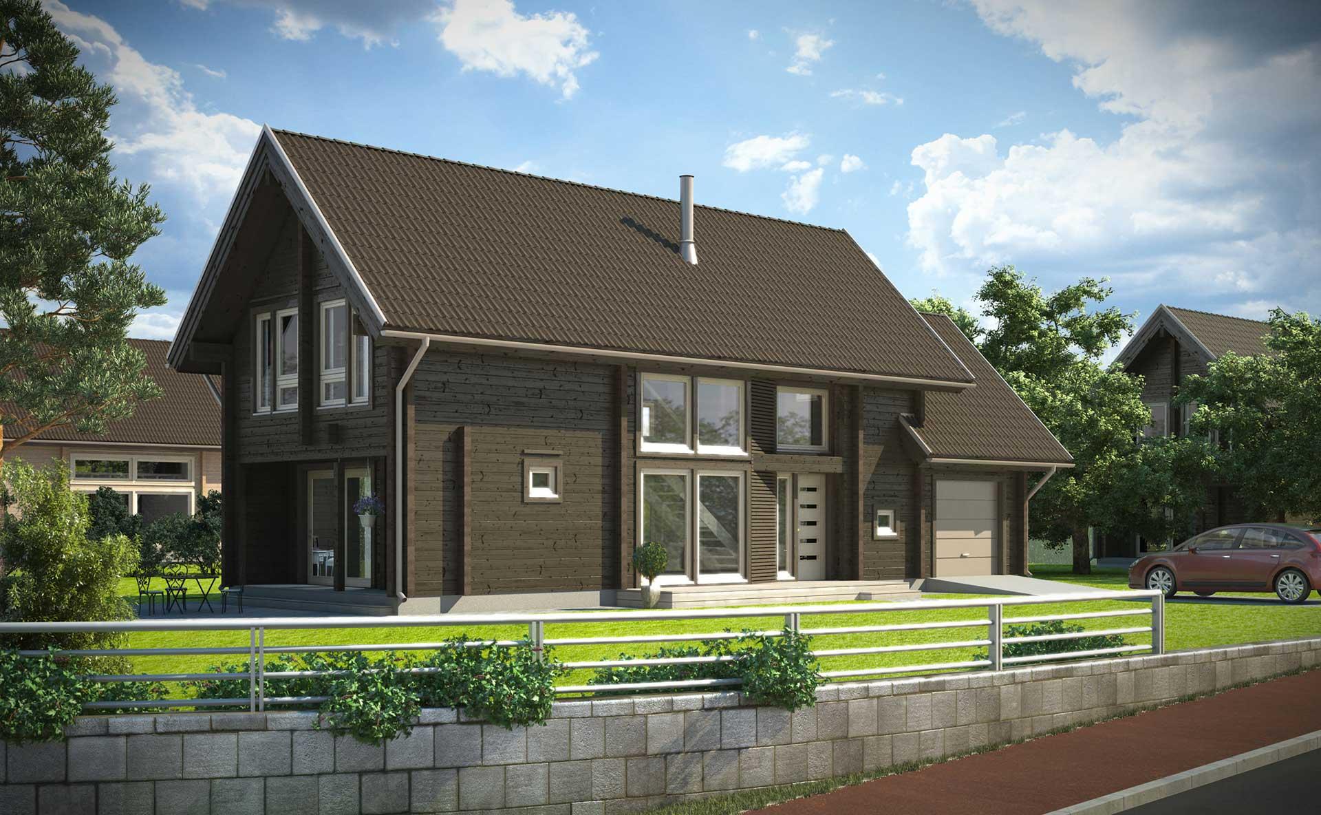 Проект практичного дома Apertus