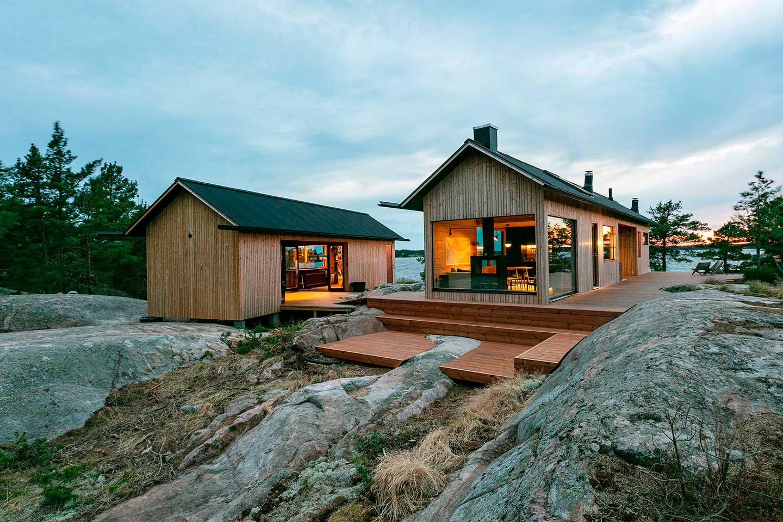 Скандинавский стиль финского дома