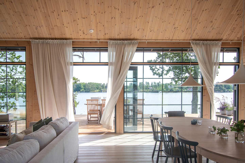 Финский дизайн интерьера дома