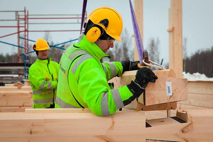 Индивидуальное строительство деревянного дома