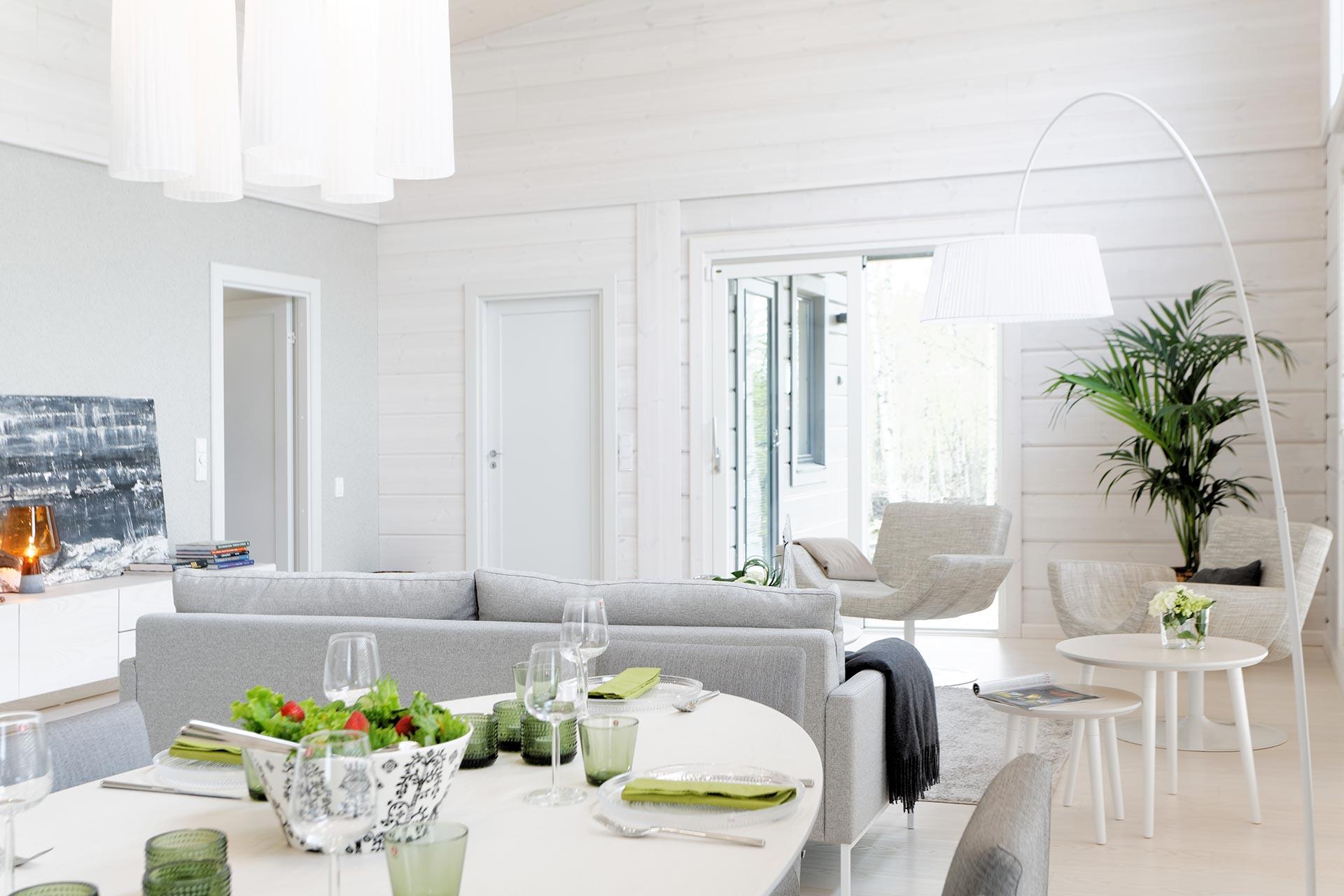 Скандинавский дизайн комнаты