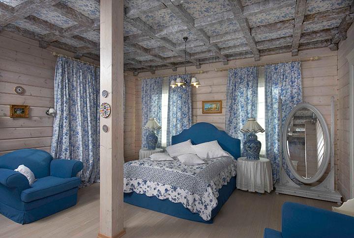 Светлый интерьер детской спальни