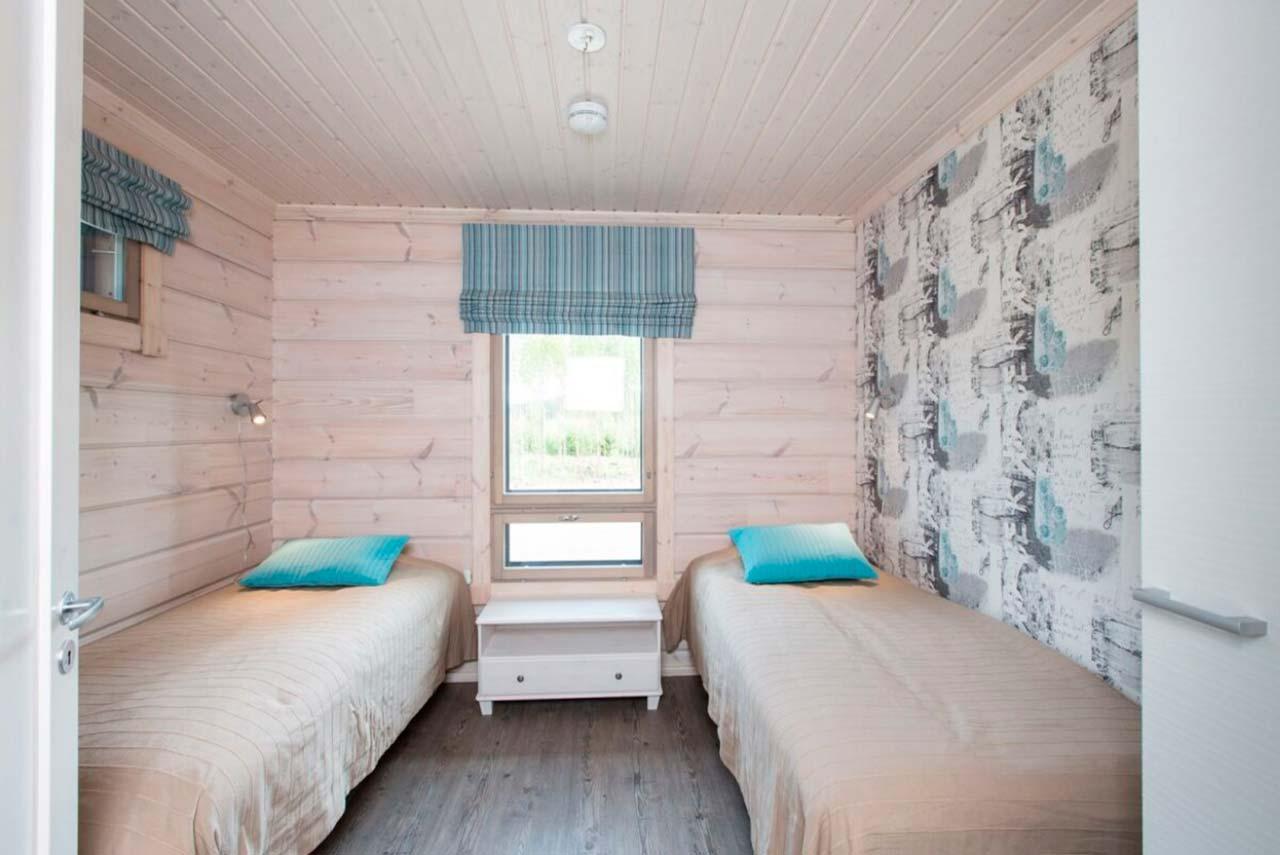 Дизайн детской комнаты из клееного бурса Сараниеми