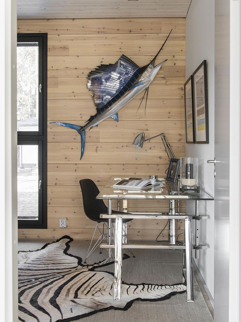дизайн рабочего кабинета в доме