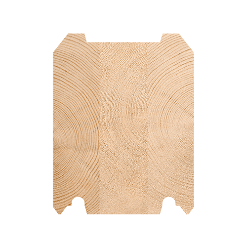 Клееный брус из сосны 135х170