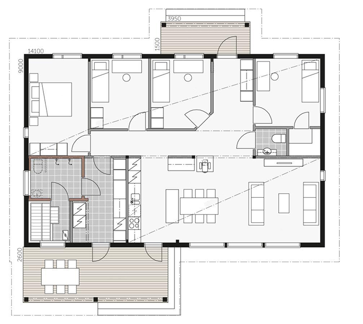 План дома Aavalahti C
