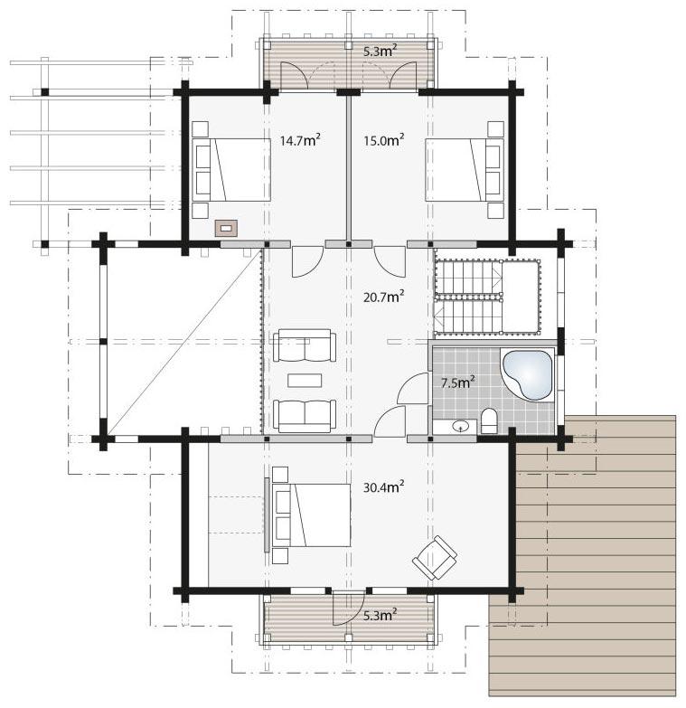 План-дома-из-финского-бруса