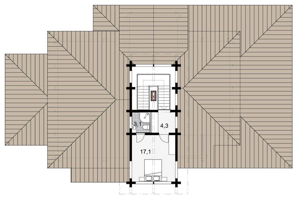 План комнаты для детей