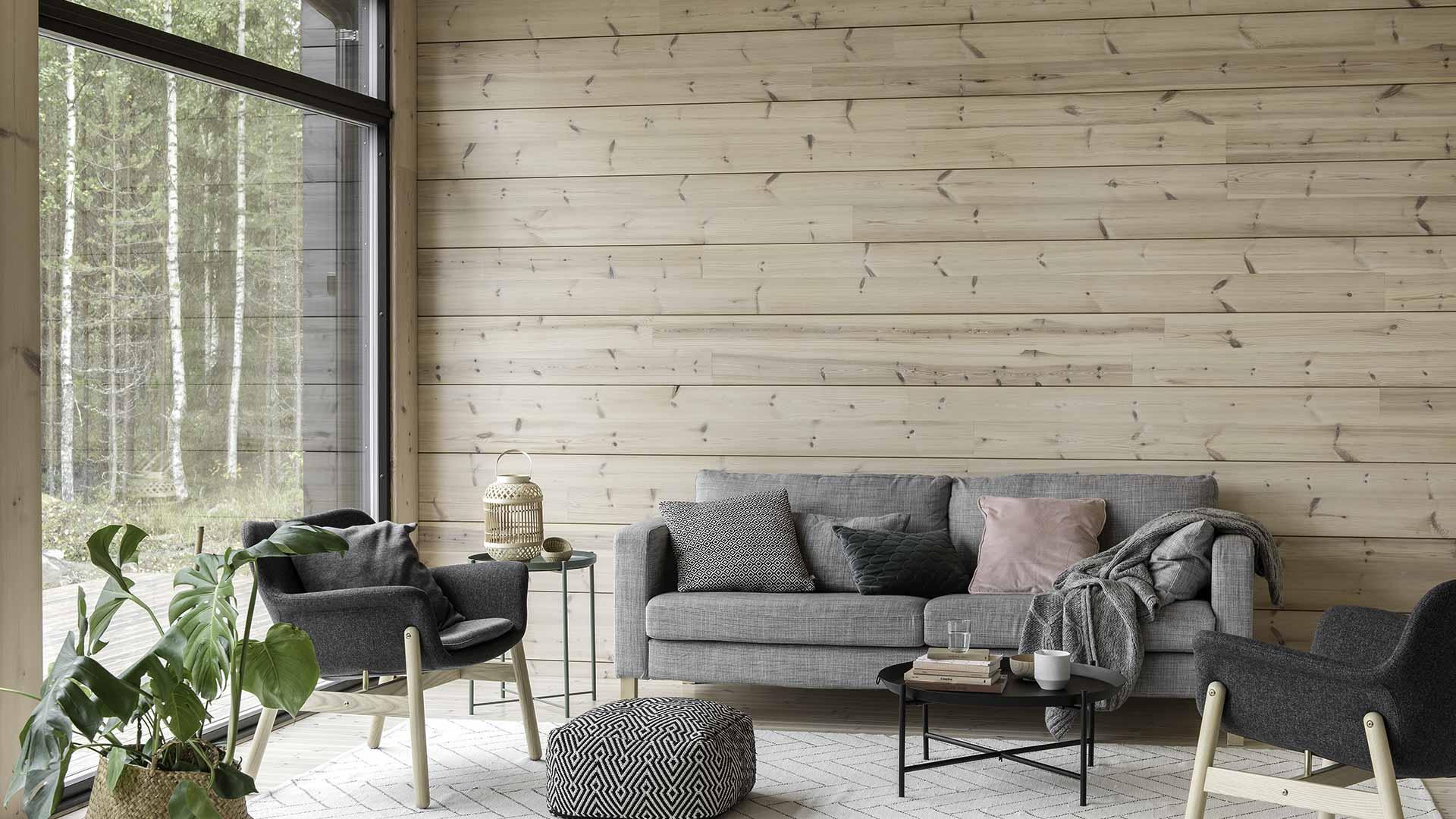 Финский дизайн гостиной