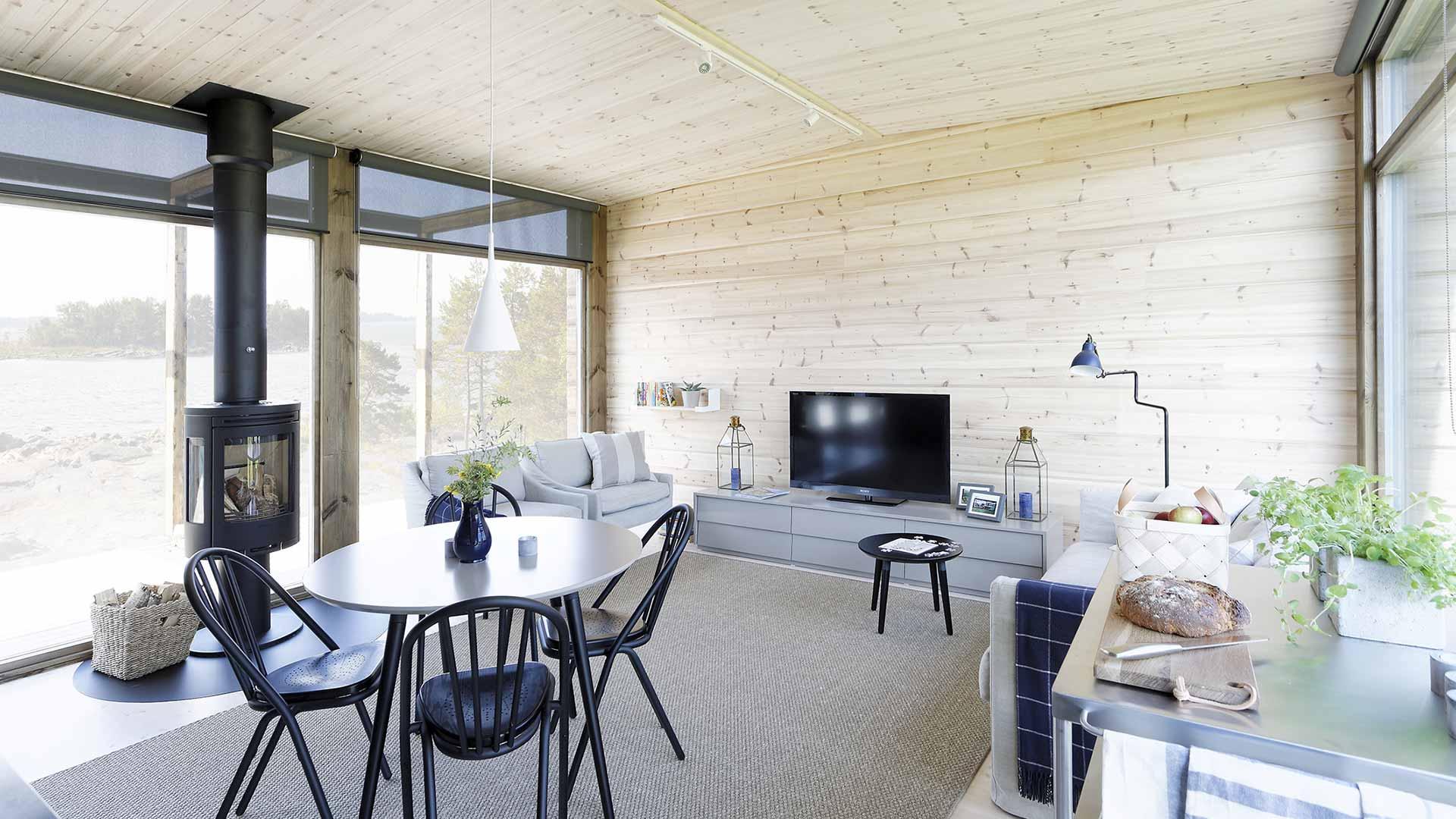 Дизайн гостиной внутри