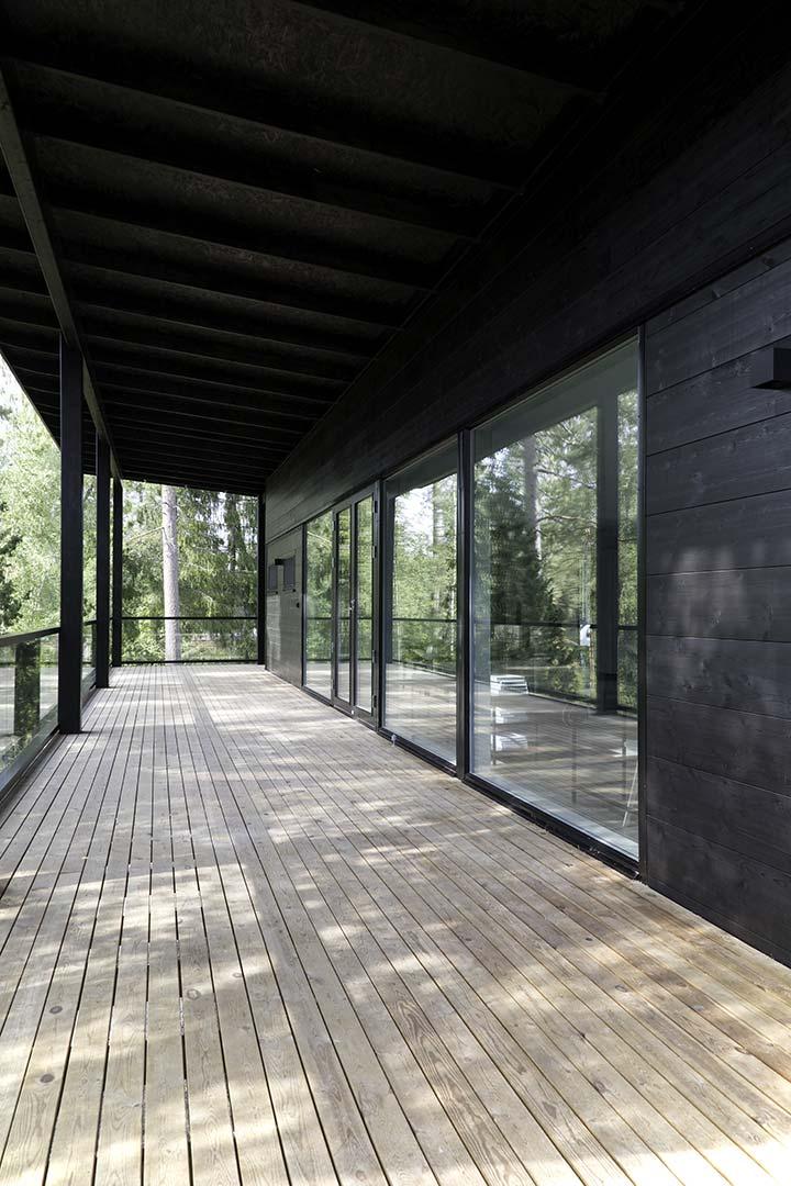 Терраса современного дома