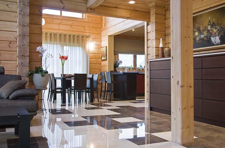 Стильный дизайн дома