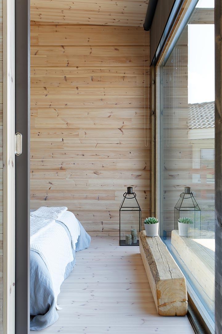 Окна в доме для отдыха